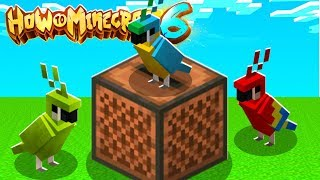 The FUNNIEST Feature With Parrots in Minecraft 1.14 - How To Minecraft 1.14 SMP #12 | JeromeASF