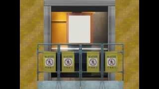 [Animierte] Schindler Hydraulic Elevator at CH Service Apartment, Townstead (Clubhaus, Original)