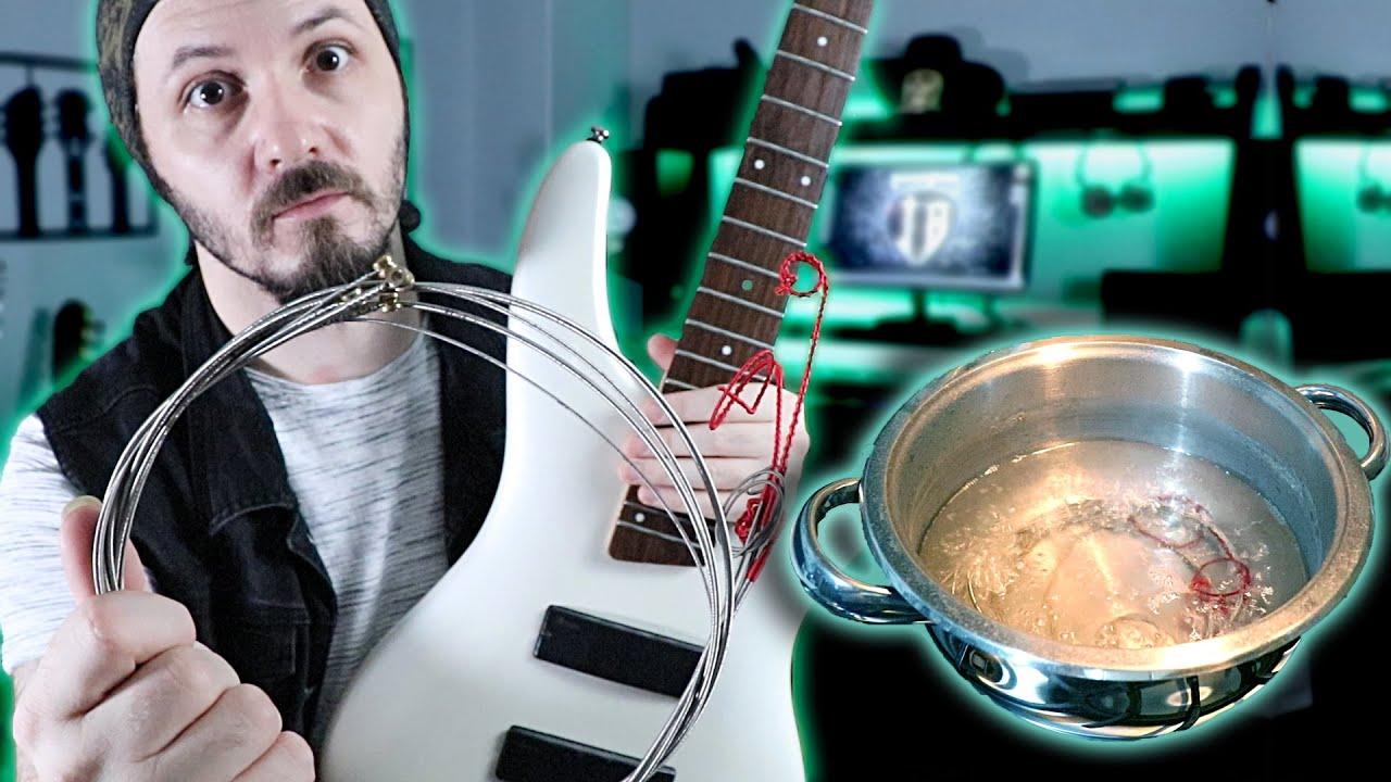 Bas Gitarın Telleri Kaynattım Yeni Gibi Oldu | Vlog