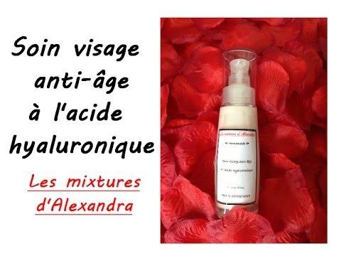 Crème soin visage anti âge à l'acide hyaluronique recette cosmétique - recette  Aroma Zone
