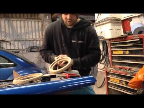 How To Make Custom FibreGlass Door Cards #BscMadness #BitchBuild Beetle Turbo