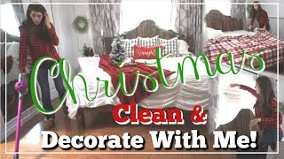 Farmhouse CHRISTMAS Clean & DECORATE WITH ME   HOLIDAY BEDROOM DECOR   Momma From Scratch