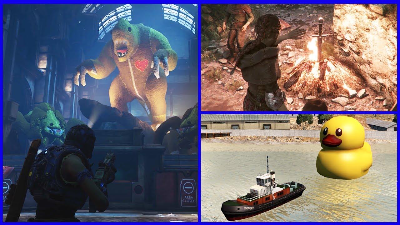 Video Game Easter Eggs #12 (Borderlands 3, Gears 5, Resident Evil 2 Remake & More) thumbnail
