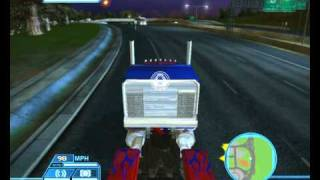 Transformers 1 Game (inGame Capture)