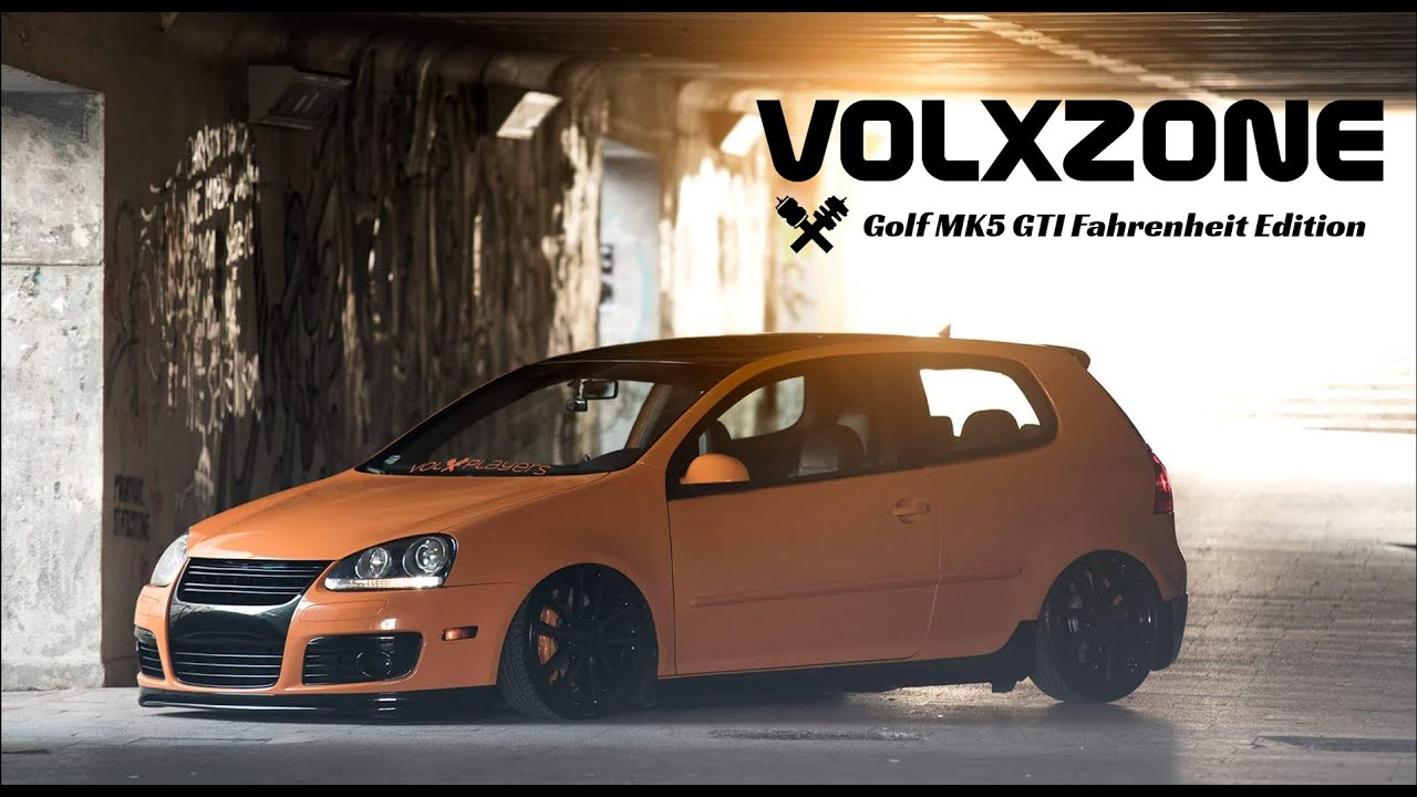VOLXZONE - Golf MK5 GTI Fahrenheit Edition - YouTube