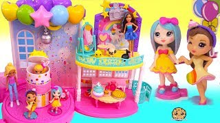 Birthday Party For Barbie 's Little Sister !  Pop Teenies Surprise Presents