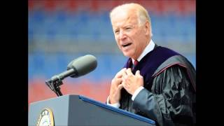Important : Auido Only, Vice Pres Joe Biden At Pennsylvania State University Speech To Graduates