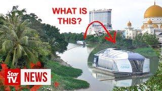 The Interceptor: Giant 'vacuum' cleaning up Klang River