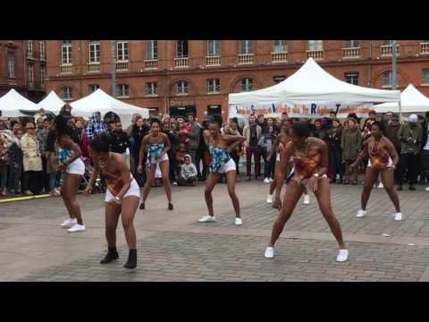 Guyana girls traditional dance