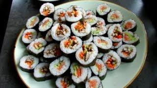 How To Make Sushi + Teriyaki Marinade!