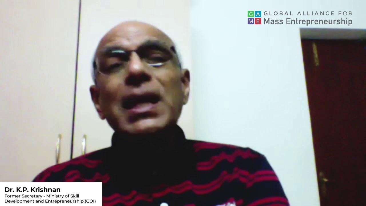 Voice of Dr. KP Krishnan   Ministry of Skill Development and Entrepreneurship   60 Days 60 Voices