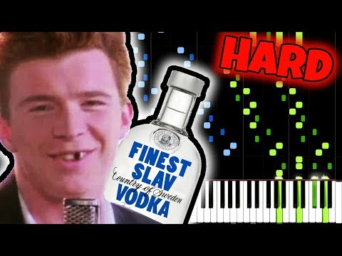NEVER GONNA GIVE YOU UP, but it SOUNDS RUSSIAN!