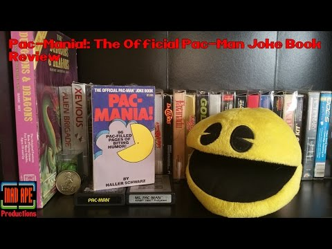 Pac-Mania! The Official Pac-Man Joke Book Review