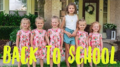 Blayke and the Quints' First Day of School 2019