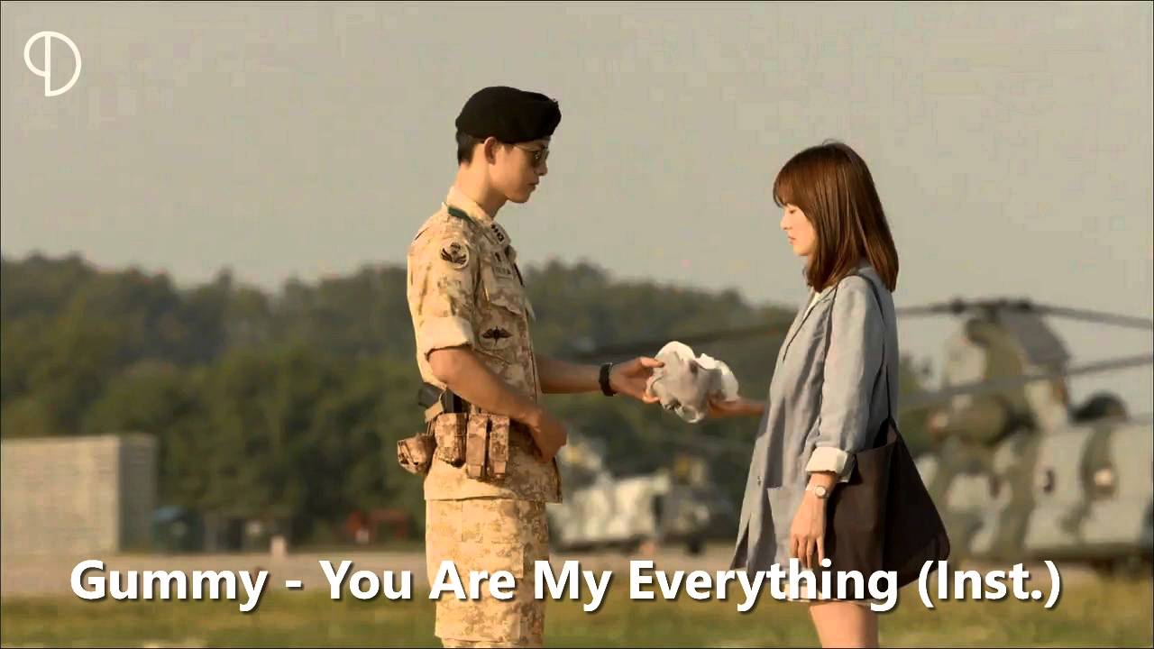 Gummy You Are My Everything Instrumental Youtube