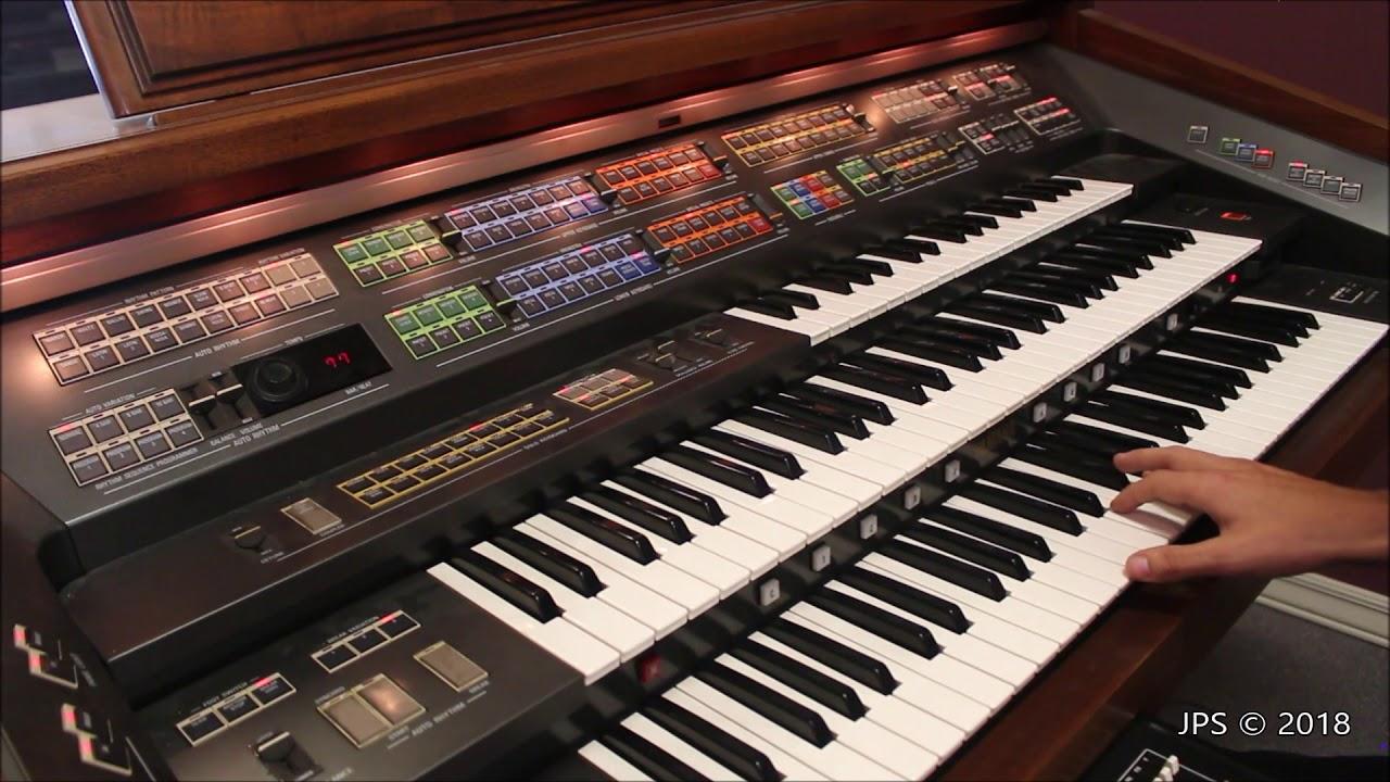 Yamaha Electone FX-20 Organ - YouTube