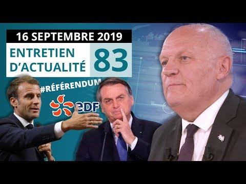 EA83: RETRAITES - PROJET HERCULE - CORRUPTION - ADP - BREXIT - MACRON