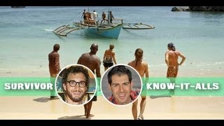 Know-It-Alls Recap Episode 8 and the Merge on Survivor Caramoan