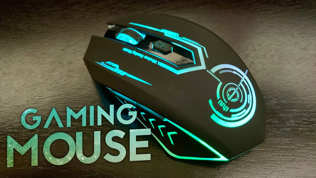b7a8a943f27 UHURU 7 Color 7200 DPI Wireless Gaming Mouse Review - YouTube