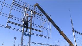 В Алматы все рекламные щиты будут приведут к единым  стандартам (14.04.16)(В мегаполисе продолжается работа по демонтажу баннеров, у которых на момент проверки не было необходимых..., 2016-04-15T06:23:00.000Z)