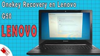 Como usar Onekey Recovery en Lenovo G50