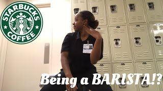 GO TO WORK WITH ME! (Starbucks barista )