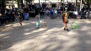 Indigenous Peoples Day Celebration 2017 Pueblo of Pojoaque Dancers and Youth Hoop Dancers Clip 5