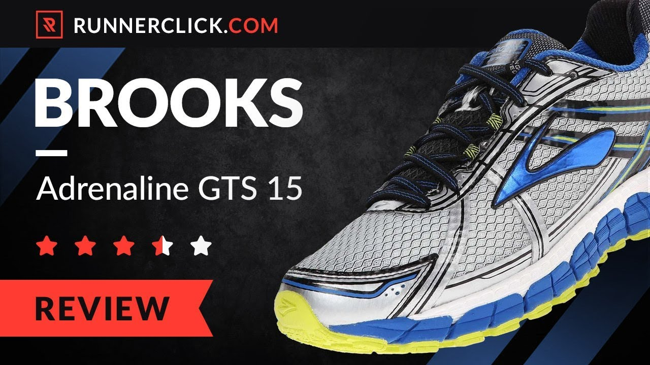 eb2cdb8c0d1 Brooks Adrenaline GTS 15 Review   Rating in 2018