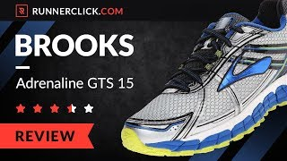 3b4f4599f1f4d Brooks Adrenaline GTS 15 Review   Rating in 2018 ...