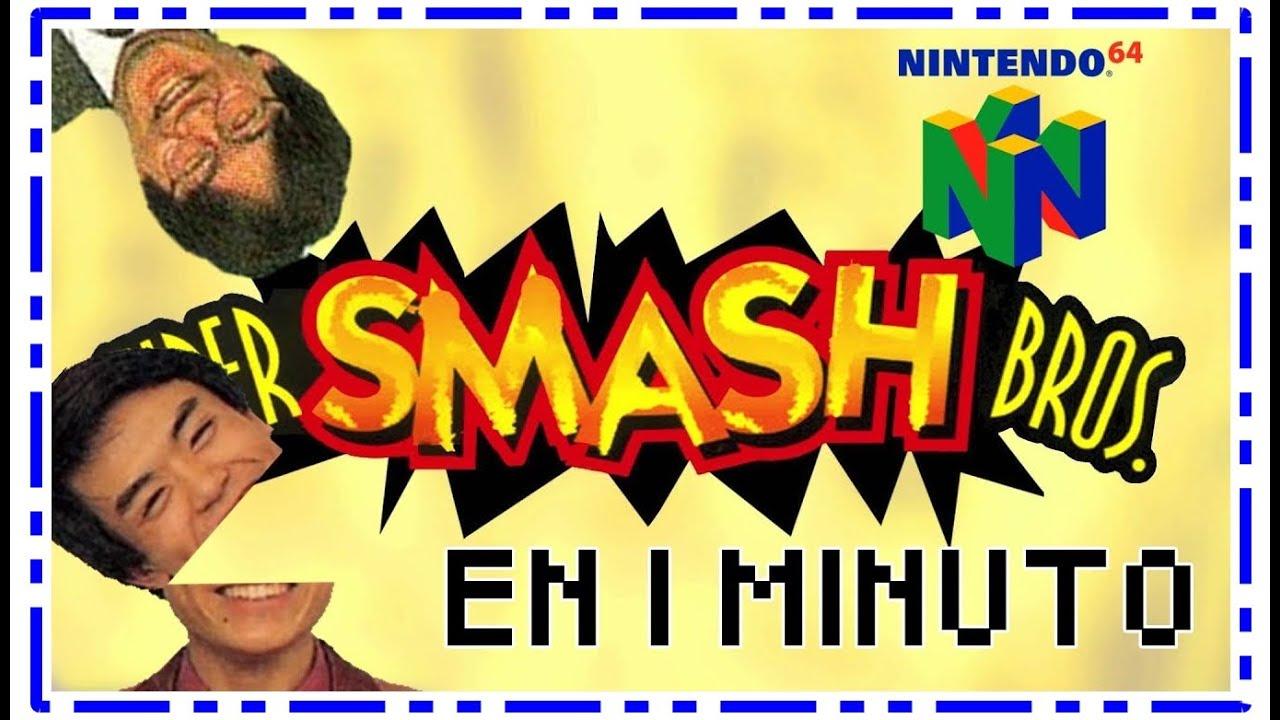 Super Smash Bros 64 Historia y Desarrollo en 1 Minuto