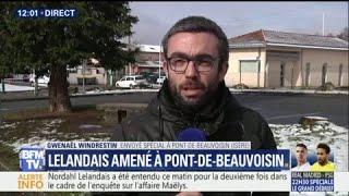 Affaire Maëlys: Lelandais amené à Pont-de-Beauvoisin, la commune où se déroulait le mariage