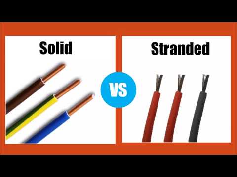 Solid VS Stranded wire - Differnece between Wires