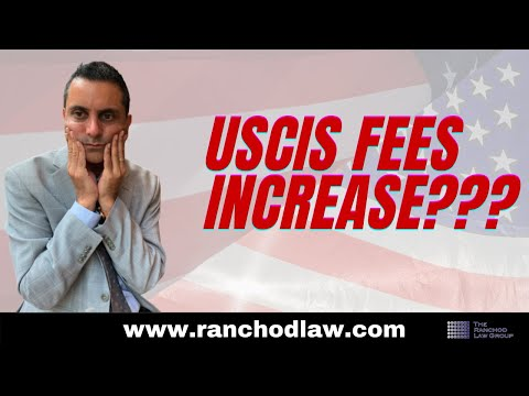 USCIS Filing Fee Increase:  New 2020 Fees For Green Cards, H1B, I601A And I601 Waivers And More