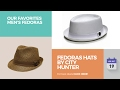 Fedoras Hats By City Hunter Our Favorites Men's Fedoras