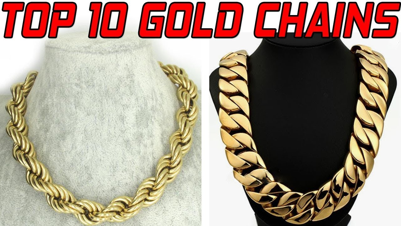TOP 20 BEST & LATEST GOLD CHAIN DESIGNS for MEN | Gold Jewellery ...