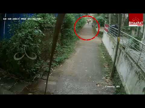 CCTV Footage | Man's Attempt to Molest Woman In Kozhikode | kerala  | Bhaarat Today