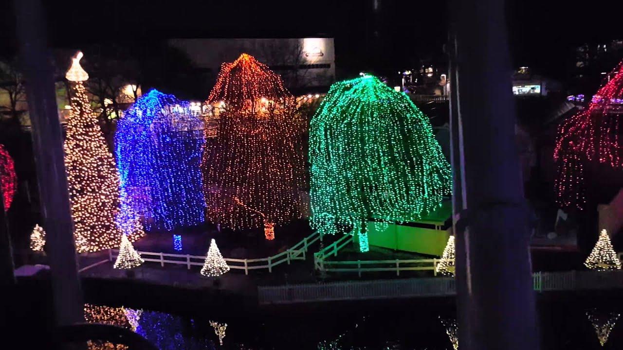 hershey park christmas lights 2015 youtube - Hershey Christmas Lights