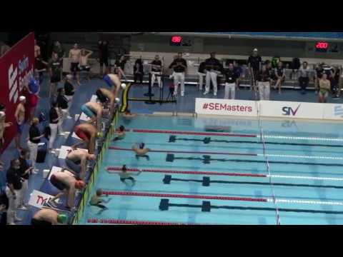100 Men's Butterfly British Nationals Masters Championship 2017