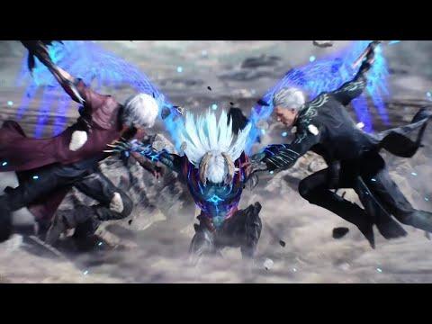 Неро против Вергилия ➤Концовка Devil May Cry 5 + Секретная Концовка
