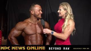 2018 NPC Nationals Bodybuilding Overall Winner Hunter Labrada Interviewed by Whitney Jones.