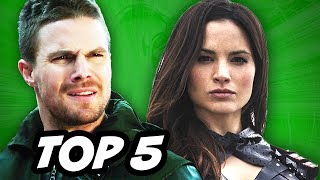 Arrow Season 3 Episode 22 - TOP 5 WTF