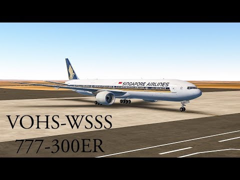 [INFINITE FLIGHT] Hyderabad to Singapore Changi : 777-300ER [Around the Globe Series; Episode 12]