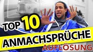 TOP 10 ANMACHSPRÜCHE! (LOVOO Auflösung)