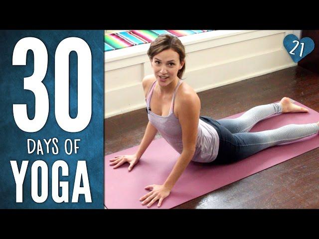 Day 21 - Joyful Home Practice - 30 Days of Yoga