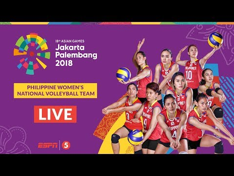 Philippines 0-3 Thailand | Asian Games 2018 Women's Volleyball Free Live Stream & Updates