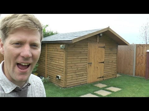 Thumbnail: How to build a really SOLID shed