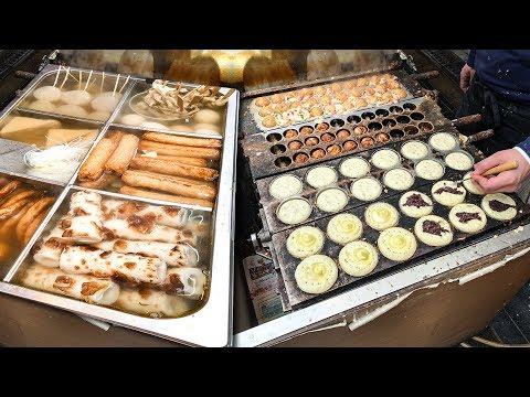 JAPANESE STREET FOOD in Osaka 🍣 Kuromon Market Tour