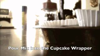 This Video Previously Contained A Copyrighted Audio Track. Due To A Claim By A Copyright Holder, The Audio Track Has Been Muted.     How To Make Dark Chocolate Cookie Cupcake Brownies
