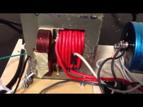 Simple DC Low Voltage Power Supply From Microwave Oven A Tr