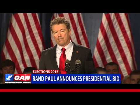 Rand Paul Launches 2016 Campaign